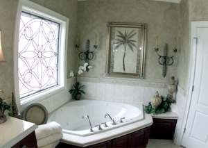 Beautiful bathroom remodel by Humphrey Construction